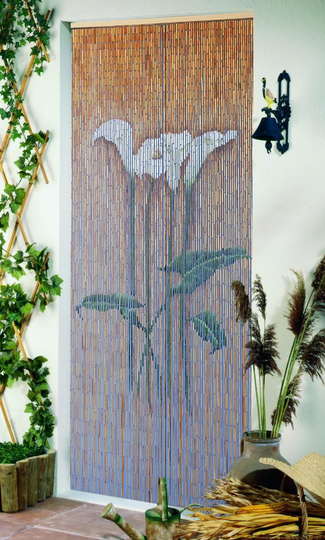 deko vorhang insektenschutz callasbl te 90 str nge 361541 haus bad insektenschutz t rvorh nge. Black Bedroom Furniture Sets. Home Design Ideas