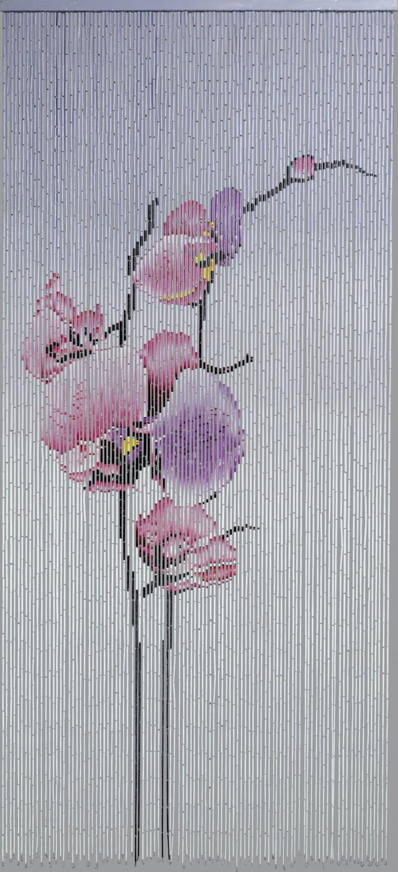 t rvorhang bambusvorhang orchidee bambus raumteiler fliegenvorhang deko vorhang haus bad. Black Bedroom Furniture Sets. Home Design Ideas