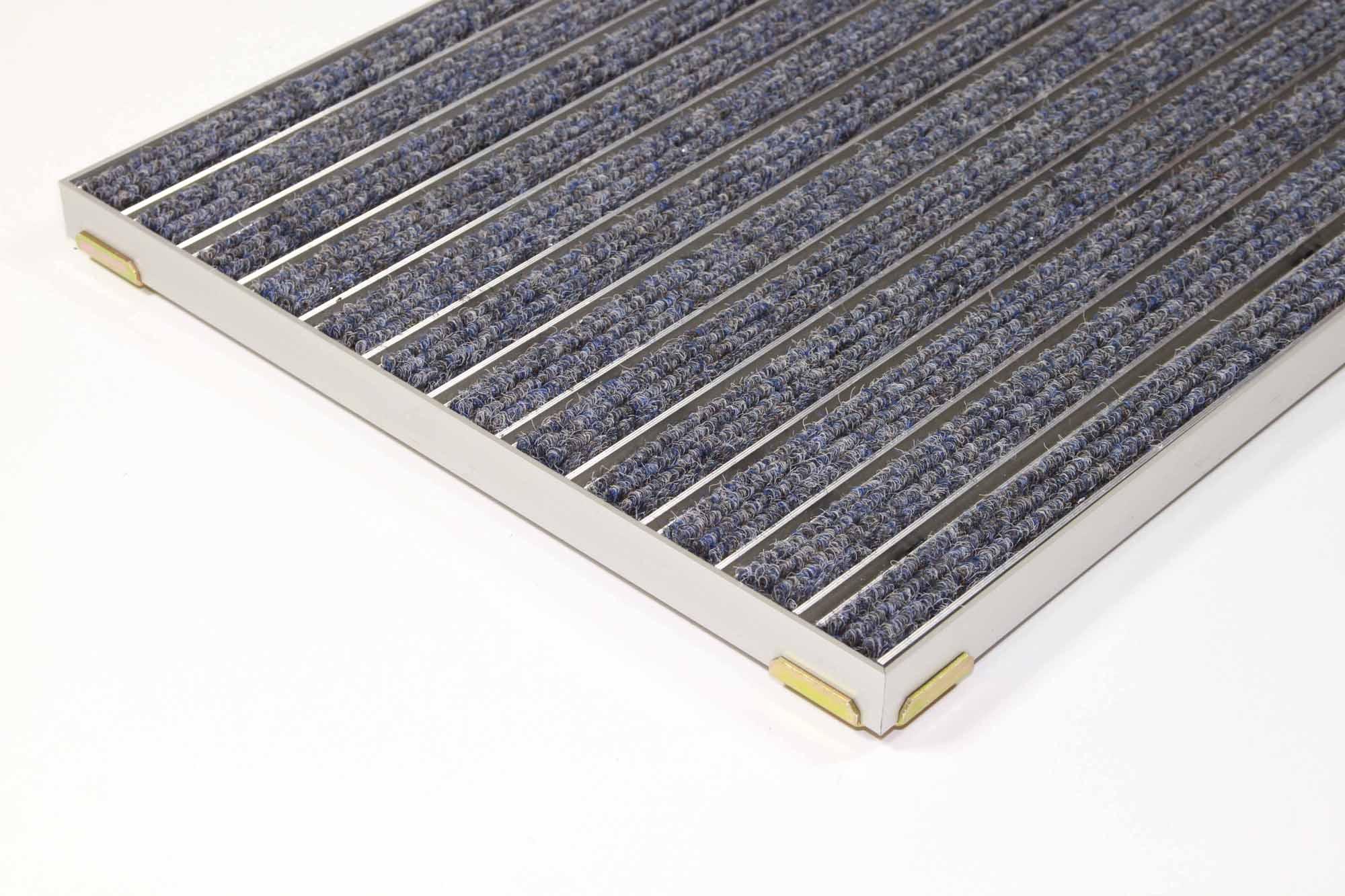 emco eingangsmatte diplomat 22mm blau ripseinlage mit einbaurahmen fu abstreifer schuhabstreifer. Black Bedroom Furniture Sets. Home Design Ideas