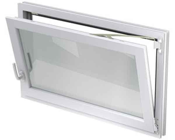 Aco 800 x 400 mm nebenraumfenster mit dreh kippbeschlag wei ebay for Kunststofffenster kellerfenster