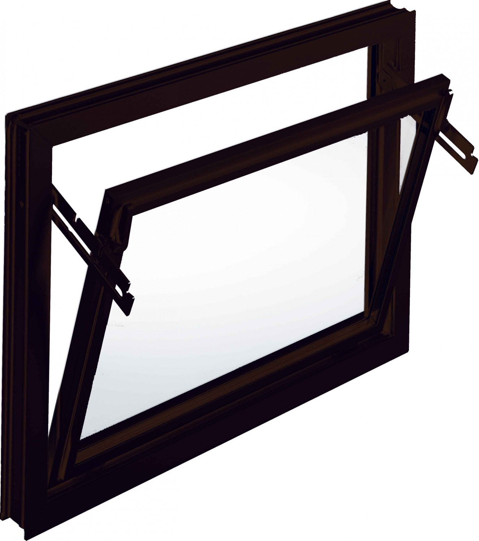 Aco 60cm nebenraumfenster kippfenster einfachglas fenster for Fenster 60 x 30