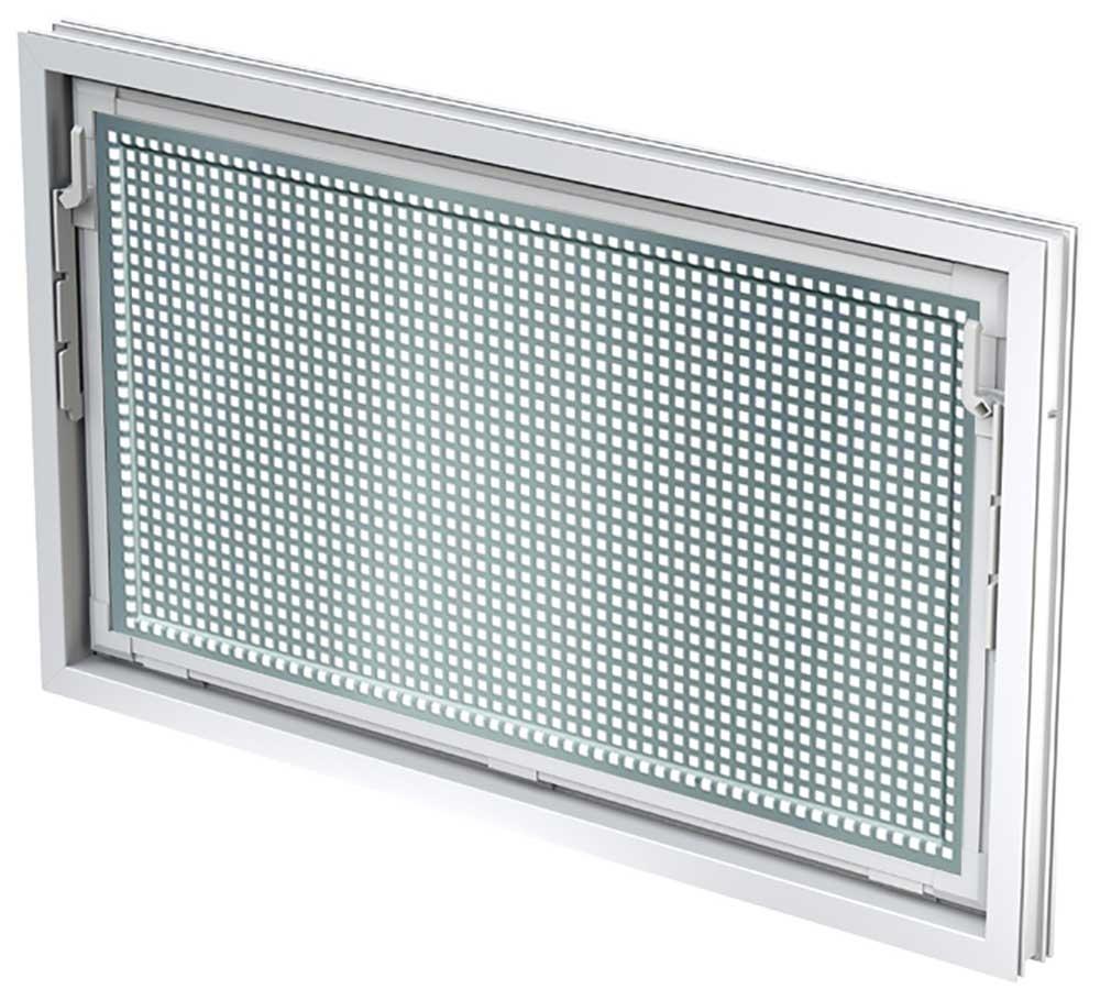 aco 80x50cm nebenraumfenster isofenster schutzgitter. Black Bedroom Furniture Sets. Home Design Ideas