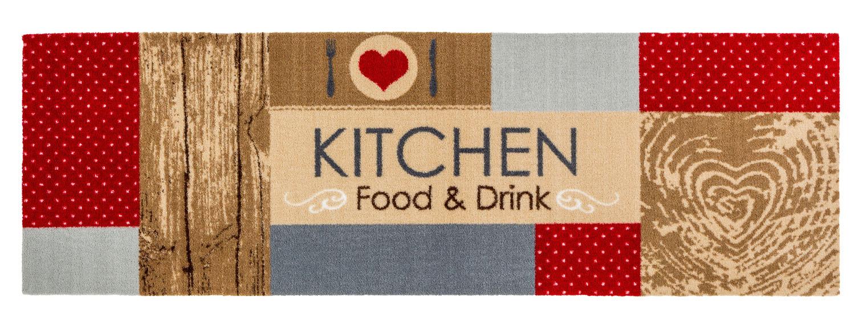 Küchenmatte Küchenteppich Teppichläufer Küche Laüfer Teppich ...