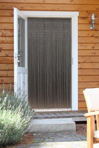 t rvorhang bambusvorhang taupe deko vorhang bambus raumteiler fliegenvorhang ebay. Black Bedroom Furniture Sets. Home Design Ideas